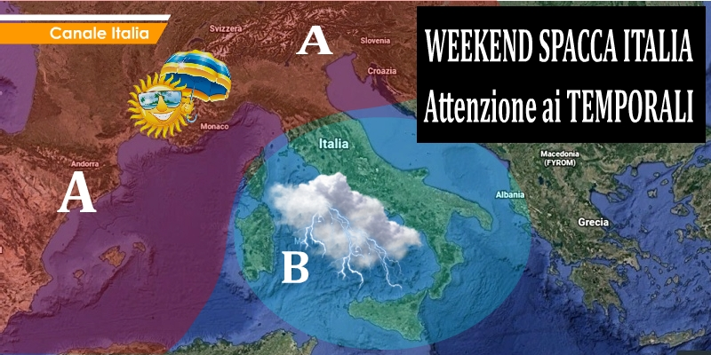 METEO CANALE ITALIA WEEKEND 181908